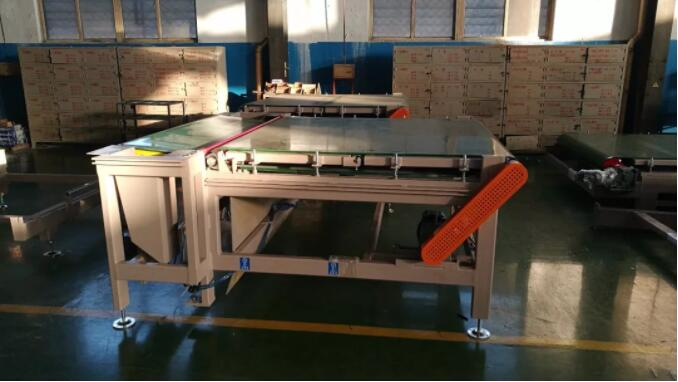 See here for several types of brick equipment for automated code cutting and transportation
